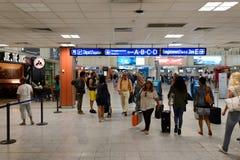 Nice International Airport interior Stock Photo