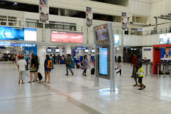 Nice International Airport interior Royalty Free Stock Photography