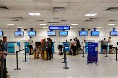 Nice International Airport interior Royalty Free Stock Image