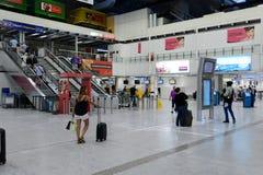 Nice International Airport interior Stock Photography