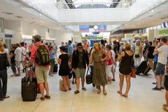 Nice International Airport interior Royalty Free Stock Photo