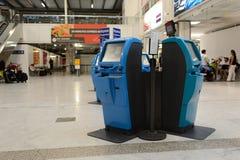 Nice International Airport interior Stock Photos