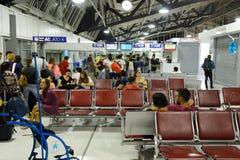 Nice International Airport interior Stock Images