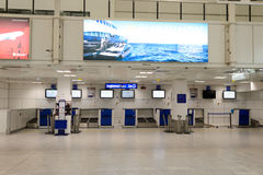 Nice International Airport interior Royalty Free Stock Photo