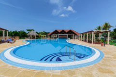 Free Nice Inviting View Of Luxury Swimming Pool At Premium Service Section Stock Photo - 83300720