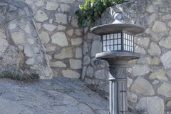 Nice iron lamppost Stock Images