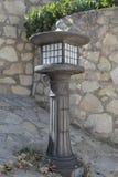 Nice iron lamppost Stock Photo