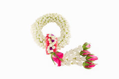 Nice jasmine garland Stock Photography