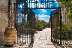 Nice Jerusalem lane Royalty Free Stock Image