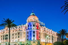 NICE - JULY 5: Negresco Hotel in Nice on July 5 Royalty Free Stock Photography