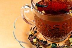 Låt oss ha en tea att kupa! Arkivbild