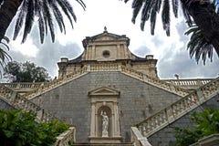 Nice kyrka i Montenegro 1 Fotografering för Bildbyråer