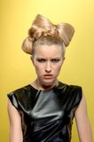 Nice lady with perfect hairdo Stock Image