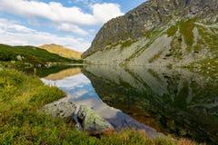 Nice lake in Tatras Royalty Free Stock Images
