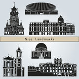 Nice landmarks and monuments Stock Photo