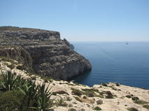 Nice landscape on the coast of malta Royalty Free Stock Photography