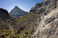 Nice landscape in mountains Stock Photography