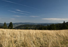 Nice landscape near Petranky settlement Royalty Free Stock Photo