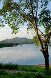 Nice landscape at reservoir Stock Image