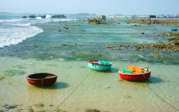 Nice landscape, Vietnam beach Royalty Free Stock Images