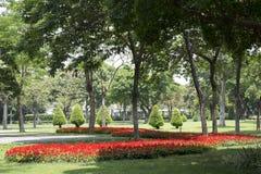 Nice landscapes design in Ersha Island Park Guangzhou. Outdoor landscapes design in city Guangzhou Ersha Island park ,Guangdong province China Asia Stock Image