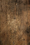 Nice large scratched rough  grunge wood Stock Images