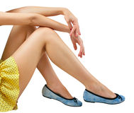 Nice legs Stock Images