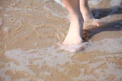 Nice legs in water Stock Image