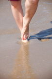 Nice legs in water Royalty Free Stock Images