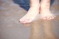 Nice legs in water Stock Photo