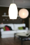 Nice lighting, lamps. Lamps at home, romantic atmosphere, various shapes Royalty Free Stock Photography