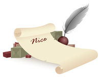 The nice list Royalty Free Stock Photos