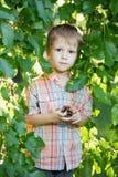 Nice little boy Stock Photography