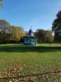 Sheffield park band stand royalty free stock image
