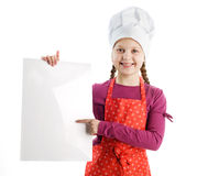 Nice little chef Royalty Free Stock Images