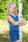 Nice little girl Royalty Free Stock Images