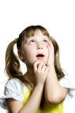 Nice little girl Stock Photos