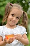 nice little girl Royalty Free Stock Photography