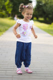 Nice little girl smiling Royalty Free Stock Photography