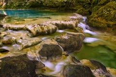Nice little waterfalls Royalty Free Stock Photos