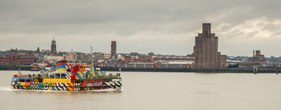 A nice of Liverpool port Royalty Free Stock Images