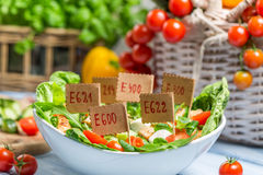 Nice looking food can have preservatives Stock Photography