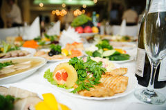 Nice looking and tasty food Stock Image