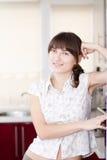 Nice looking woman posing Stock Photos