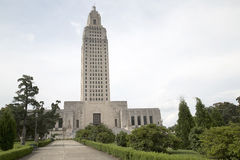 Nice Louisiana state capitol Royalty Free Stock Images