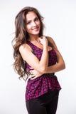 Nice lovely woman Stock Photos