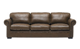 Nice and luxury leather sofa Royalty Free Stock Photo
