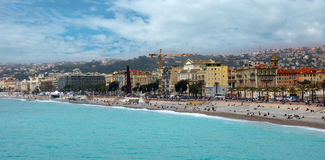 Nice - Luxury resort of French riviera Stock Photography