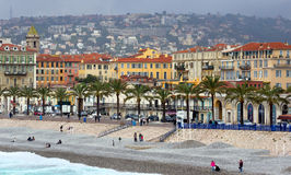 Nice - Luxury resort of French riviera Stock Image