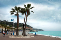 Nice - Luxury resort of French riviera Stock Photo